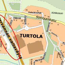 Puustoa poistetaan raitiotien reitiltä Turtolassa