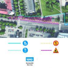 Pirkankadulla muutoksia bussipysäkeille ja kulkureitteihin