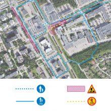 Raitiotien rakentaminen alkaa Hervannassa – liikennejärjestelyjä Insinöörinkadulla ja Hermiankadulla