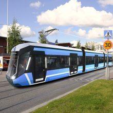 Raitiovaunu Hervannassa