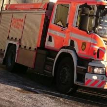 Pelastuslaitos testaa kalustoaan Hämeenkadulla Raitiotieallianssin työmaalla