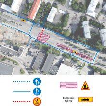 Raitiotien rakentamisesta Sammonkadulle uusia liikennejärjestelyjä