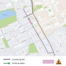 Hervannan Insinöörinkatu osittain yksisuuntaiseksi ja osalla kadusta läpiajokielto – bussit kiertävät Hervannan valtaväylän kautta