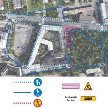 Raitiotien rakentaminen jatkuu Pirkankadun ja Mariankadun liittymässä – risteyksen liikenneturvallisuutta parannetaan