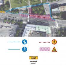 Raitiotien rakentaminen etenee Pirkankadulla – bussipysäkki uuteen paikkaan ja muutoksia kulkureitteihin