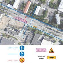 Raitiotien rakentamisesta uusia liikennejärjestelyjä Sammonkadulla ja Teiskontiellä