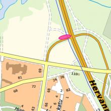 Raitiotietöitä yöaikaan Nekalantien rampilla – liikennejärjestelyjä Hervannan valtaväylällä