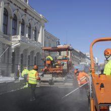 Tampereen raitiotien rakentamistyöt 2018