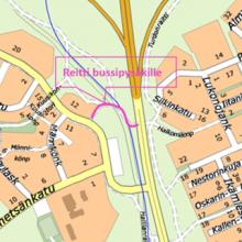 Yhteys Hervannan valtaväylän bussipysäkille muuttuu 13.4.