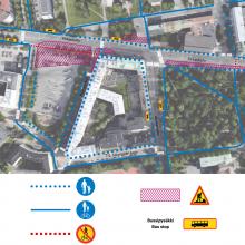Tampereen keskustan raitiotietyöt täyteen vauhtiin – töistä muutoksia liikennejärjestelyihin.