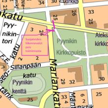 Raitiotietöistä muutoksia Pirkankadun ja Mariankadun liittymässä – liikennevaloja pois käytöstä