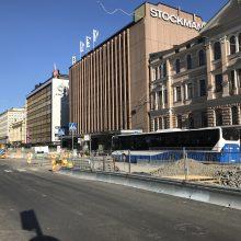 Hämeenkadun itäpäässä muutoksia bussipysäkkeihin ja jalankulkuun