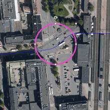 Hämeenkadun ja Rautatienkadun liittymän liikennevalot pois toiminnasta 3.-4.5.