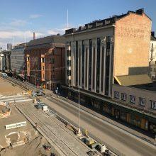 Raitiotiestä johtuvia yötöitä Hämeenkadulla ja Pirkankadulla 21.-22.5.