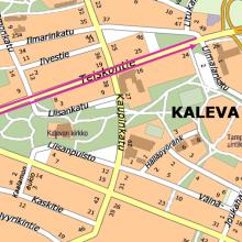 Teiskontien raitiotietyöt etenevät – autoliikenne talouskaistoille koko kadulla