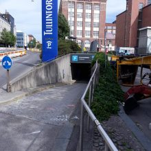 Itsenäisyydenkadun ajoreitti Tullintorin pysäköintihalliin suljetaan 29.6.