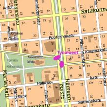 Hämeenpuistossa ja Pirkankadulla tehdään kaukokylmälinjaa yötöinä 7.8. alkaen