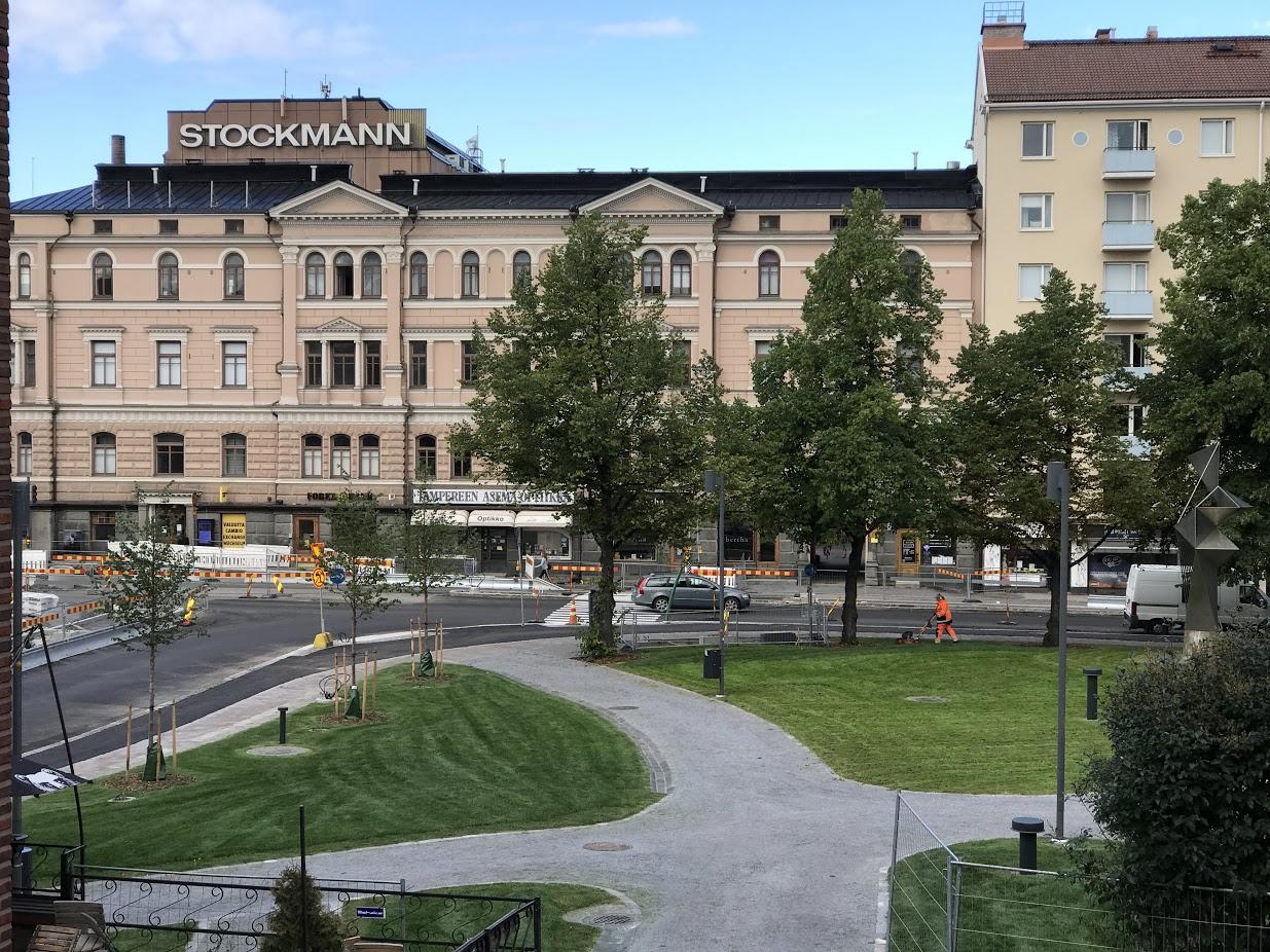 Posteljooninpuisto on jälleen kaupunkilaisten käytössä