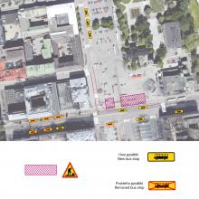 Hämeenkadun raitiotietyöt etenevät – kadunrakennusta ja uusia liikennejärjestelyjä