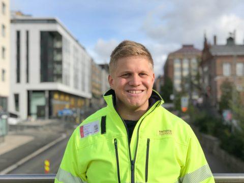 Turvallisuuspäällikkö Kalle Koivuniemi