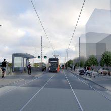 Raitiotien länsiosan suunnitelmia esitellään joukkoliikenneillassa Lielahdessa 4.12.