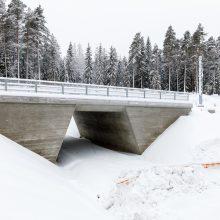 Lammelankallion alikäytävä tammikuussa 2019. Kuva: Pasi Tiitola