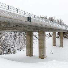 Koivusenojan ratasilta tammikuussa 2019. Kuva: Pasi Tiitola