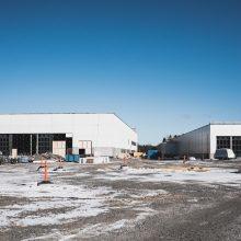 Raitiovaunujen kotipesä nousee Hervannassa – varikon työt etenevät suunnitellusti