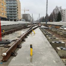 In addition to the tramway, Tramway Alliance will fully rebuild Hämeenkatu – Construction along the tramway line remains busy in the third year of the project