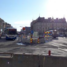 Keskustan ja Kalevan alueella uusia liikennejärjestelyjä raitiotietöistä viikolla 20