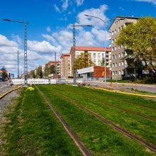 Tampereen raitiotien nurmiradan kasvualusta selvisi kokeilulla – radan kylvöt aloitetaan loppukesällä