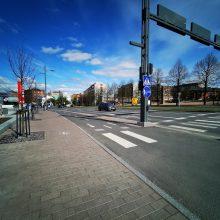 Raitiotien pysäkki suunnitellaan Sorinaukion kohdalle Hatanpään valtatiellä