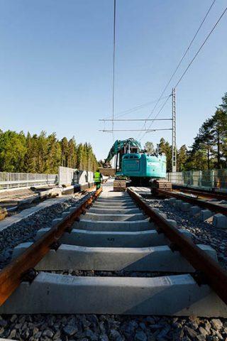 Sepelirataa on rakennettu myös raitiotien silloilla. Kuva: Pasi Tiitola