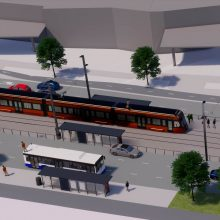 Raitiotien katusuunnitelmaluonnoksia Hatanpään valtatielle esitellään verkossa ja suunnittelupäivystyksissä 20. ja 21.8.