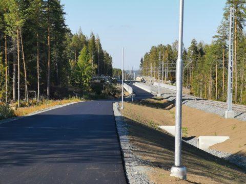 Pyöräilyn ja jalankulun laatukäytävä Hervannan valtaväylän varrella otetaan käyttöön loppuvuoden aikana