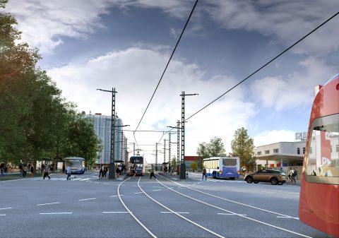 Hatanpään valtatien raitiotien rakentamisesta päätetään loppuvuonna