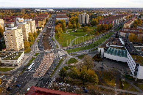 Sammonaukion raitotien rakentamistyöt valmistuivat marraskuussa
