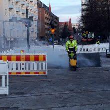 Kaikki suojatiet käyttöön Rautatienkadun ja Hämeenkadun liittymässä – Hämeenpuistossa pieniä liikennejärjestelyjä talveksi