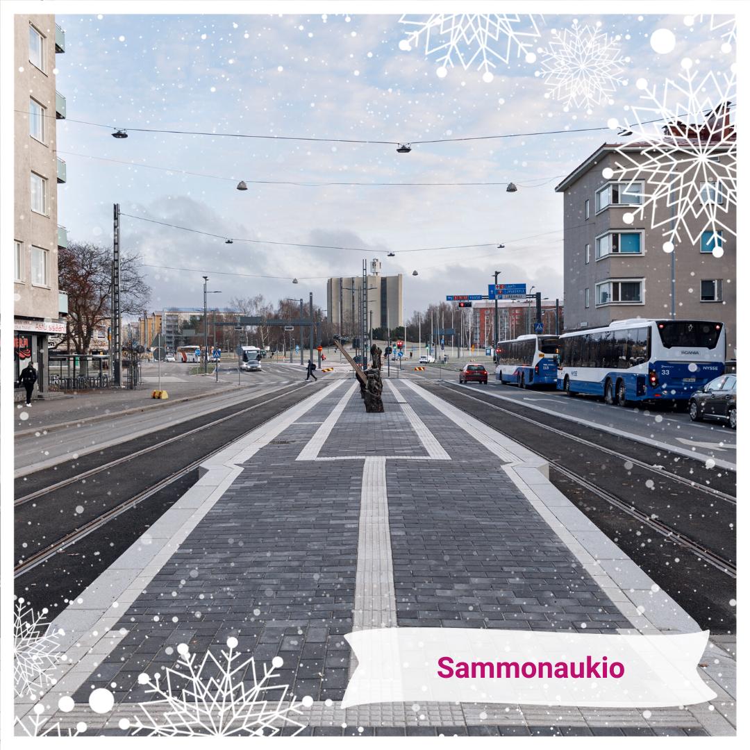 Joulukalenteri Sammonaukio