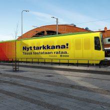 Tampereen raitiotien testaukseen Saksassa käytössä ollut raitiovaunu – varikon ja radan testit alkavat maaliskuussa