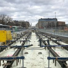 Hatanpään valtatiellä ajokaistamuutoksia – Hämeenkadulla aloitetaan kadunrakennustöitä