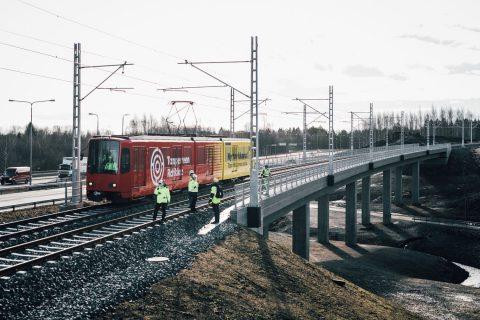 Vackerin silta Hervannan valtaväylän varrella Kuva: Wille Nyyssönen