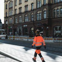 Kadunrakennustyöt keskustassa etenevät – uusia jalankulkualueita valmistuu