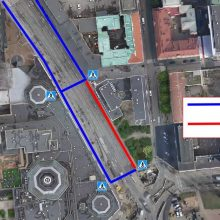 Hatanpään valtatiellä uusi liikennemuutos ja jalankulkuun kiertoreitti