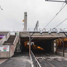 Itsenäisyydenkadun asematunnelin raitiotietyöt valmiit – jalankulku- ja pyöräilyväylä avataan taas käyttöön