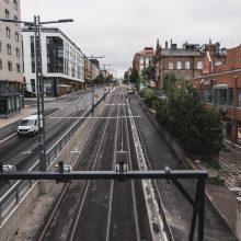 Rautatienkadulla ja Itsenäisyydenkadulla loppuasfaltointeja heinäkuun lopussa – raitiotietyöt valmistuvat tänä vuonna