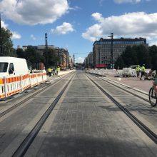 Uusia liikennejärjestelyjä Hämeensillan alueen jalankulkuun ja pyöräilyyn