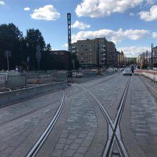 Hämeensillalla jalankulkumuutoksia – Hatanpään valtatiellä bussipysäkki siirtyy