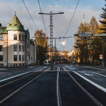Pirkankatu kohti Hämeenpuistoa. Kuva Wille Nyyssönen.