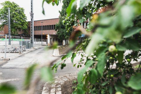 Rautatien alittava tunneli Rautatienkadun suunnasta.